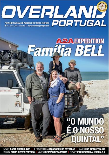 Edição Nº6 Revista OVERLAND Portugal